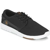 Schuhe Herren Sneaker Low Etnies SCOUT Schwarz / Weiss
