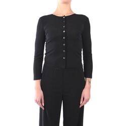 Kleidung Damen Strickjacken Jucca J3112016 Strickjacke Damen schwarz schwarz