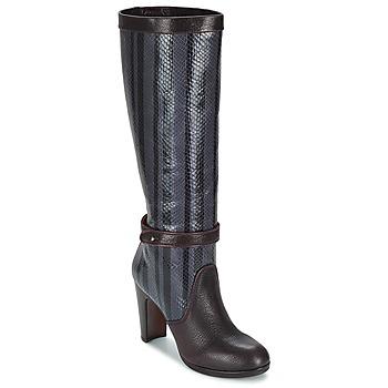 Schuhe Damen Klassische Stiefel Chie Mihara NERVE Aubergine