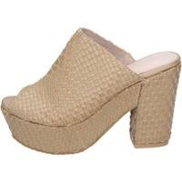 Schuhe Damen Sandalen / Sandaletten Sara Lopez sandalen kunstleder beige