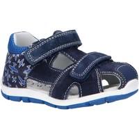 Schuhe Kinder Sportliche Sandalen Happy Bee B144194-B1392 Azul