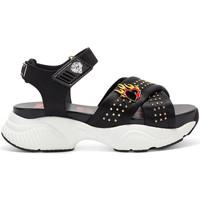Schuhe Damen Sandalen / Sandaletten Ed Hardy - Flaming sandal black Schwarz