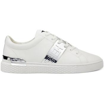 Schuhe Herren Sneaker Low Ed Hardy - Stripe low top-metallic white/silver Weiss