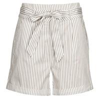 Kleidung Damen Shorts / Bermudas Vero Moda VMEVA Weiss / Blau
