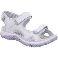 Schuhe Damen Sandalen / Sandaletten Allrounder by Mephisto Sandaletten Larissa K-San 80Mesh 03 offwhi Larisa weiß