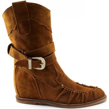 Schuhe Damen Klassische Stiefel Divine Follie DIV-E20-700-CU Marrone