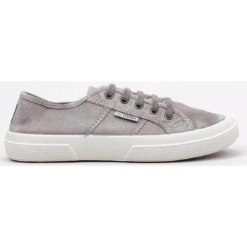 Schuhe Damen Sneaker Low Natural World 901 E Grau