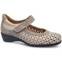Schuhe Damen Ballerinas Calzamedi SQUARE WOMEN LETINAS BEIGE