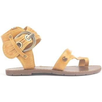 Schuhe Damen Sandalen / Sandaletten Chattawak Sandales 9-Pensée Yellow Gelb