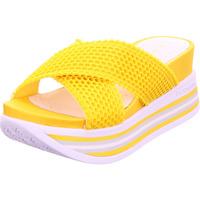 Schuhe Damen Pantoffel Bugatti Jil gelb
