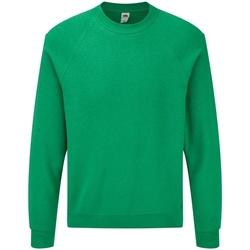 Kleidung Herren Sweatshirts Fruit Of The Loom 62216 Grün