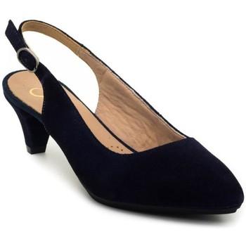 Schuhe Damen Pumps Desiree NINA blue