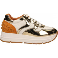 Schuhe Damen Sneaker Low Voile Blanche MARANSTUDS oro