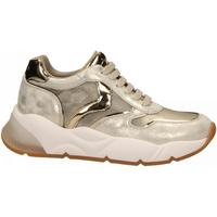 Schuhe Damen Sneaker Low Voile Blanche SHEELMESH oro