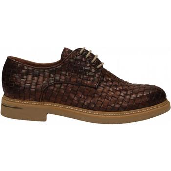 Schuhe Herren Derby-Schuhe Brecos INTRECCIATO brandy