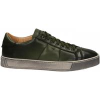 Schuhe Herren Derby-Schuhe Santoni DERBY 7 OCC. GOOSE verde