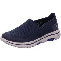 Schuhe Damen Slip on Diverse Slipper GO WALK 5 - APPRIZE 55510 NVY blau