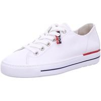 Schuhe Damen Sneaker Low Paul Green Schnürhalbschuh 4760-006 weiß
