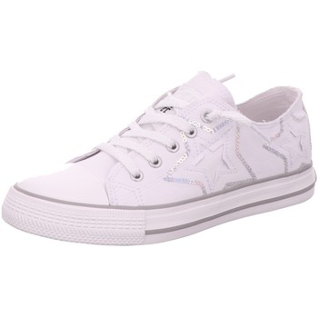 Schuhe Damen Sneaker Low Dockers by Gerli Low 46MC609-730-505 weiß