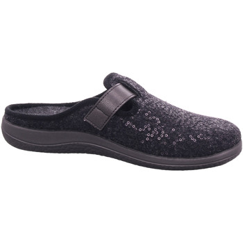 Schuhe Damen Hausschuhe Rohde PANTOLETTE MIT KALTFUTTER 6556-82 schwarz