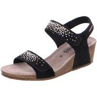 Schuhe Damen Sandalen / Sandaletten Mephisto Sandaletten MARIA SPARK Velcalf/ P5130042 schwarz
