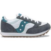 Schuhe Kinder Sneaker Low Saucony jazz original vintage sk262471 Grau