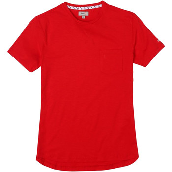 Kleidung Herren T-Shirts Slam - T-shirt rosso S112528T00-625 ROSSO