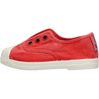 Schuhe Jungen Sneaker Low Natural World - Scarpa elast rosso 470E-652 ROSSO