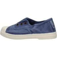 Schuhe Jungen Sneaker Low Natural World - Scarpa elast blu 470E-628 BLU