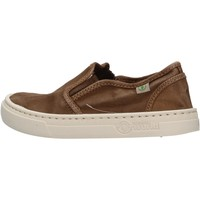 Schuhe Jungen Slip on Natural World - Slip on marrone 6472E-686 MARRONE