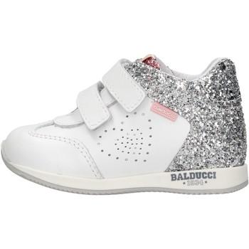 Schuhe Jungen Sneaker High Balducci - Polacchino bianco CSPO3905 BIANCO