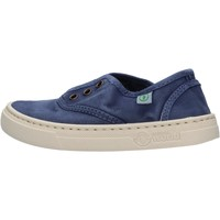 Schuhe Jungen Sneaker Low Natural World - Sneaker blu 6470E-628 BLU
