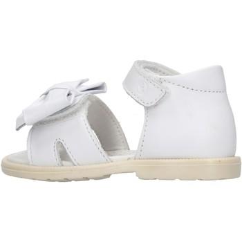 Schuhe Mädchen Sandalen / Sandaletten Falcotto - Sandalo bianco LARVIK-0N01 BIANCO
