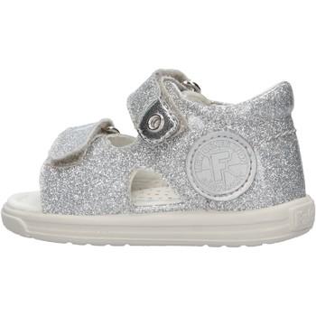 Schuhe Jungen Sandalen / Sandaletten Falcotto - Sandalo argento NEMO-0Q04 ARGENTO