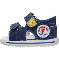 Schuhe Jungen Sandalen / Sandaletten Falcotto - Sandalo jeans NEMO-0C06 BLU