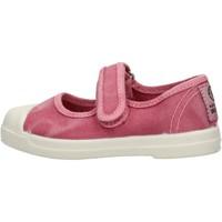 Schuhe Mädchen Sneaker Low Natural World - Scarpa velcro rosa 476E-603 ROSA