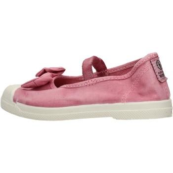 Schuhe Mädchen Sneaker Low Natural World - Ballerina rosa 473E-603 ROSA