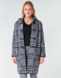 Kleidung Damen Mäntel Derhy SAISON Grau / Schwarz