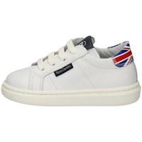 Schuhe Jungen Sneaker Low Nero Giardini E023801M WEISS