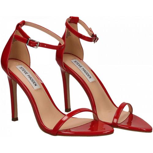 Steve Madden ABBY PATENT red - Schuhe Sandalen / Sandaletten Damen 11900