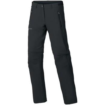 Kleidung Damen Hosen Vaude Sport Wo Farley Stretch ZO T-Zip Pan 40144/010 schwarz