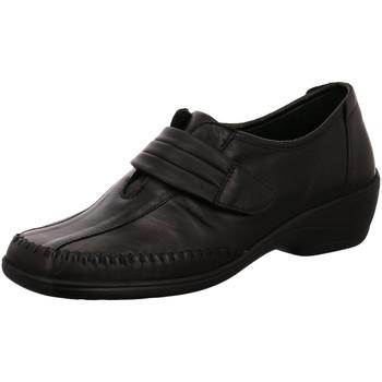 Schuhe Damen Slipper Aco Slipper Silke 02 207/4522W schwarz