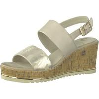 Schuhe Damen Sandalen / Sandaletten Be Natural Sandaletten Da.-Sandalette 8-8-28342-22-400 beige
