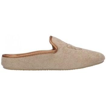Schuhe Damen Hausschuhe Norteñas 9-35-23 Mujer Beige beige