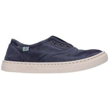 Schuhe Jungen Sneaker Natural World 6470E 677 Niño Azul marino bleu