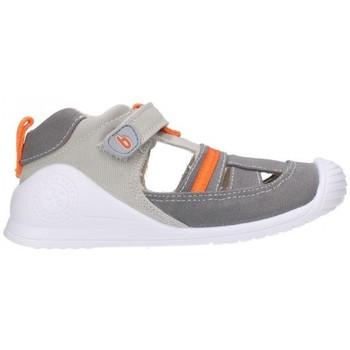 Schuhe Jungen Sandalen / Sandaletten Biomecanics 202214 Niño Gris gris