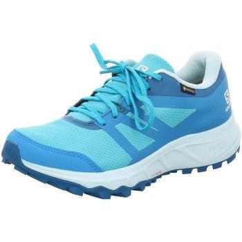 Schuhe Damen Laufschuhe Salomon Sportschuhe l40963900 blau