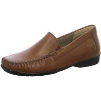 Schuhe Damen Slipper Sioux Slipper Cortizia 65281 braun