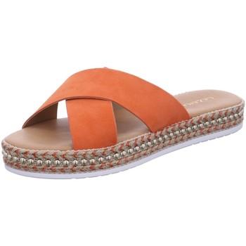 Schuhe Damen Pantoletten / Clogs Lazamani Pantoletten orange