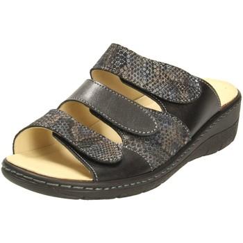 Schuhe Damen Pantoletten / Clogs Portina Pantoletten 42.215 SCHWARZ schwarz